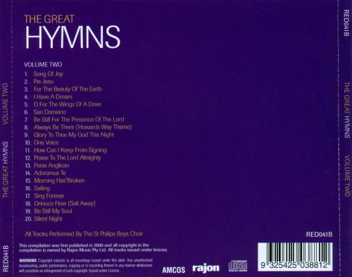 The Great Hymns, Vol. 2