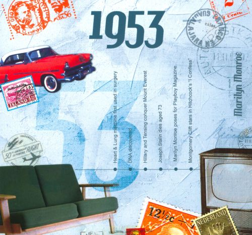1953: A Time To Remember The Classic Years