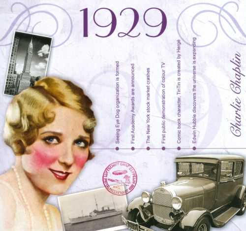 1929: A Time To Remember The Classic Years