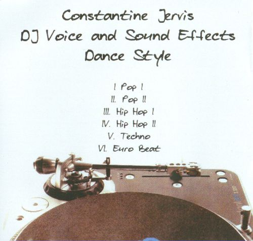 DJ Voice and Sound Effects (Dance Style)