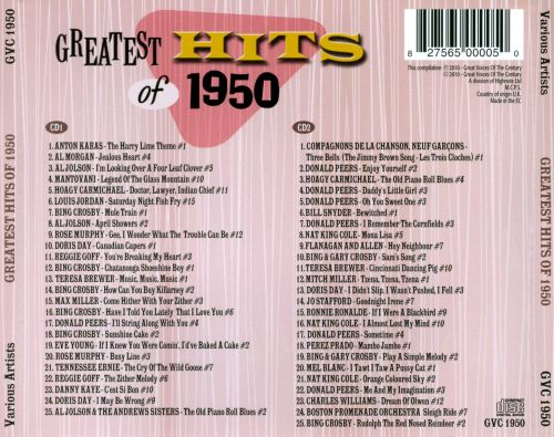 Billboard Top 100 Songs of the 1950s by Year - Classic Hits DJ
