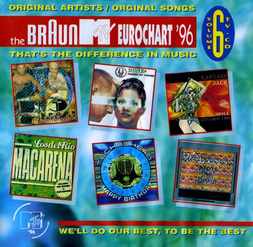 Various The Braun MTV Eurochart '99 - Volume 12