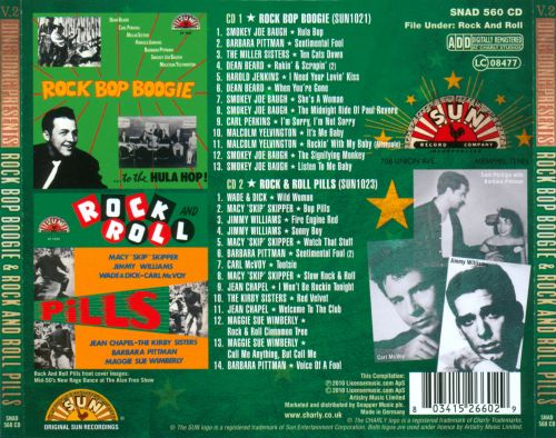 Ding Dong Presents: Rock Bop Boogie & Rock and Roll Pills, Vol. 2
