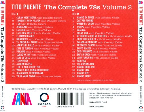 The Complete 78s, Vol. 2