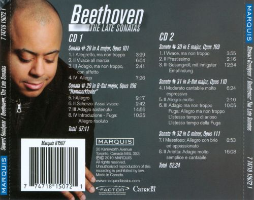 Beethoven: The Late Sonatas