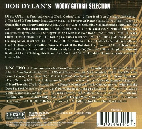 Bob Dylan's Woody Guthrie Selection