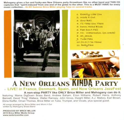 A New Orleans Kinda Party