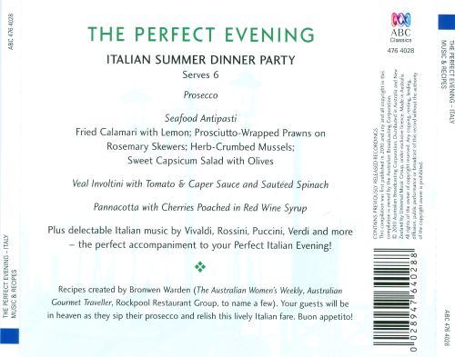 The Perfect Evening: Italy