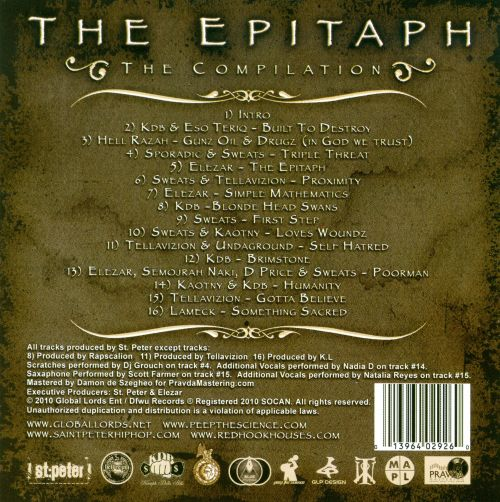 The  Epitaph: The Compilation