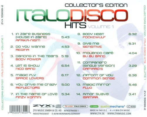 Italo Disco Hits, Vol. 1