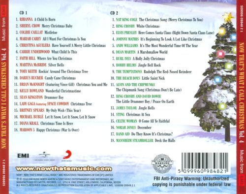 Now That's What I Call Christmas!, Vol. 4 - Various Artists ...