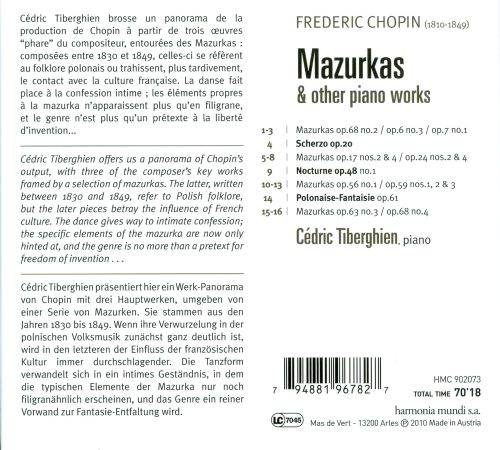 chopin mazurkas essay He directly compares differing editions of chopin's études, preludes, nocturnes, mazurkas, polonaises, sonatas, and other works edited by von bülow, kullak, riemann, mikuli, and godowsky in their detailed treatment of fingering, phrasing, pedaling, tempo indication, and so forth.