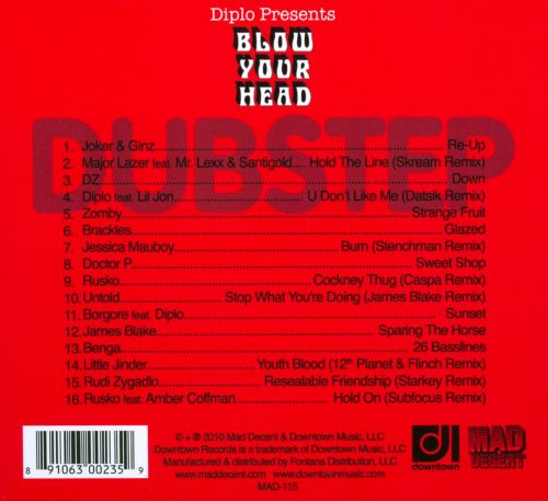 Blow Your Head: Diplo Presents Dubstep