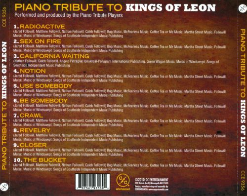 Piano Tribute To Kings Of Leon