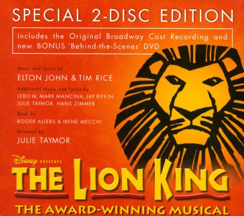 the lion king  original broadway cast
