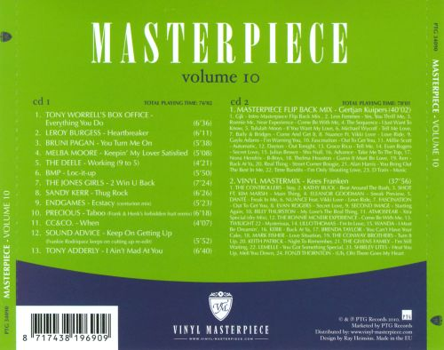 Masterpiece: The Ultimate Disco Funk Collection, Vol. 10