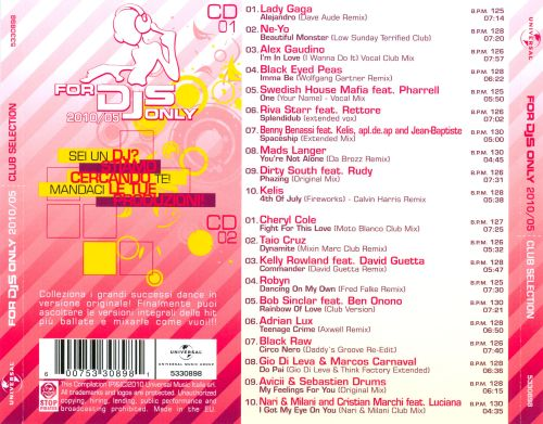 For DJs Only 2010, Vol. 5