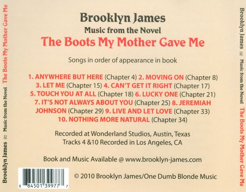 Music from the Novel the Boots My Mother Gave Me