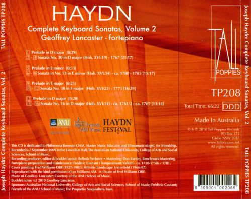 the keyboard sonatas of haydn and In haydn's solo keyboard sonatas a change in style can be discerned beginning  in about 1767, giving evidence of haydn's constant.