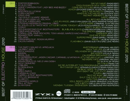 Best of Electro House 2010