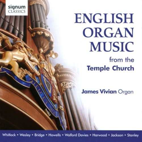 English Organ Music from the Temple Church
