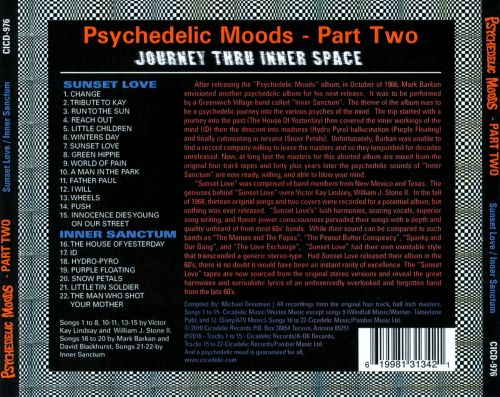 Psychedelic Moods, Pt. 2: Journey Thru Inner Space