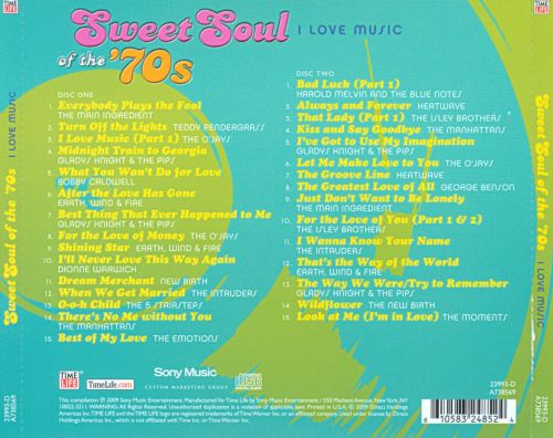 Sweet Soul of the '70s: I Love Music