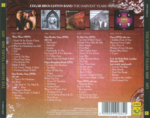 The Harvest Years: 1969-1973