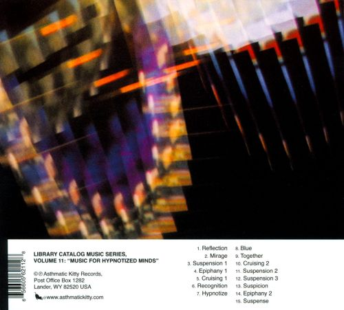 Library Catalog Music Series: Music for Hypnotized Minds