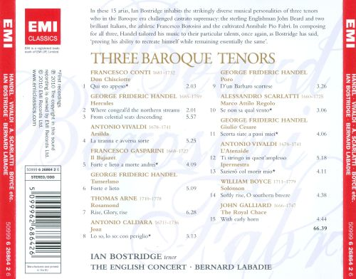 Three Baroque Tenors