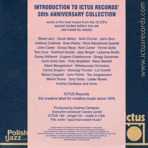 Danger High Voltage: Introduction to Ictus Records 30th Anniversay
