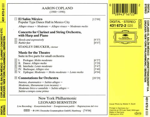 Copland el salon mexico clarinet concerto connotations for Aaron copland el salon mexico