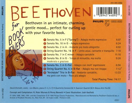 Beethoven for Book Lovers: An Intimate Companion for Reading