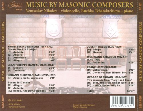 Music by Masonic Composers
