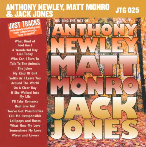 Karaoke: Hits of Anthony Newley, Matt Monro & Jack Jones