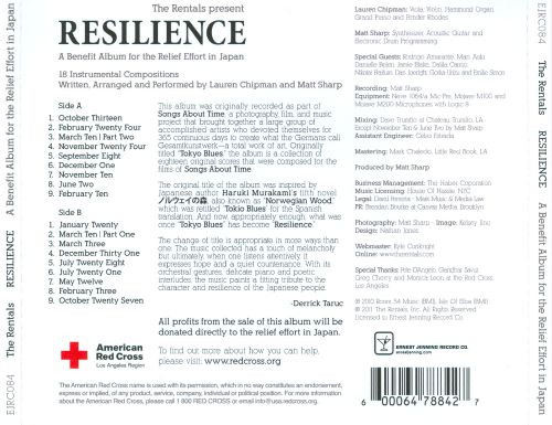 Resilience: A Benefit Album for the Relief Effort in Japan