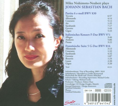 Miku Nishimoto-Neubert plays Bach