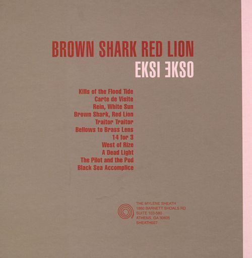Brown Shark Red Lion