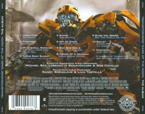 transformers movie background music