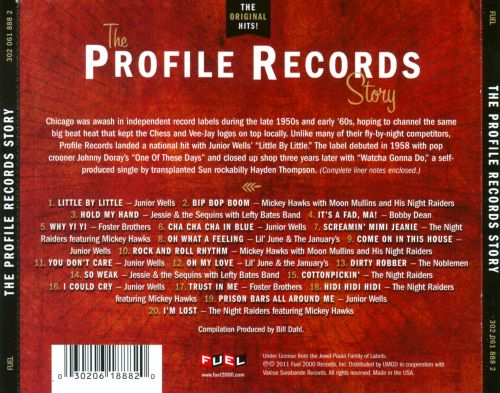 The Profile Records Story