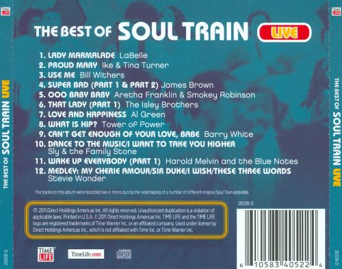 The Best of Soul Train Live