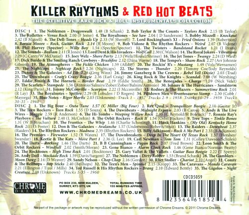 Killer Rhythms & Red Hot Beats: The Definitive Rare Rock & Roll Instrumentals Collection