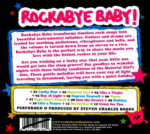Rockabye Baby! Lullaby Renditions of Madonna