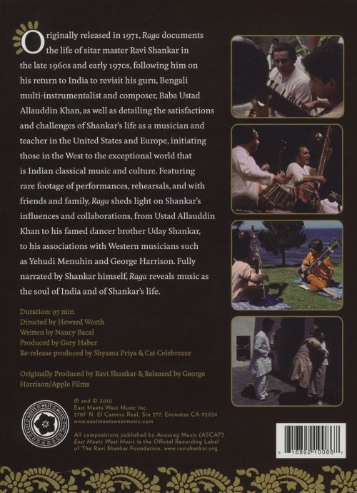 Raga: A Film Journey to the Soul of India [DVD]