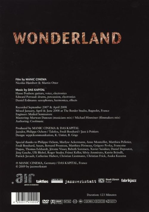 Wonderland: Traveling Cinema & Musical Laboratory [DVD]