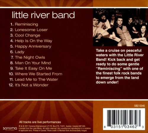 Little River Band Greatest Hits Little River Band: Little River Band [Sonoma] - Little River Band