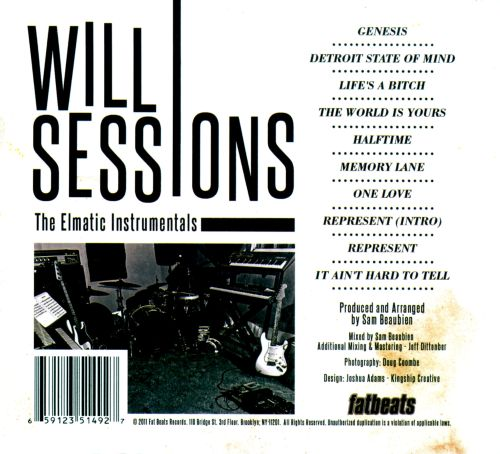 The Elmatic Instrumentals Will Sessions Songs Reviews