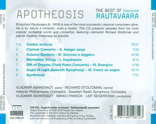 Apotheosis: The Best of Einojuhani Rautavaara