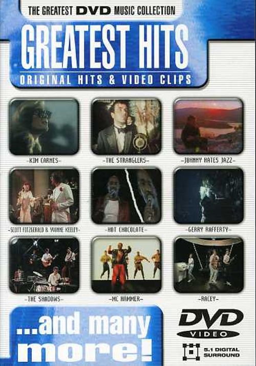 Greatest Hits [Disky DVD]