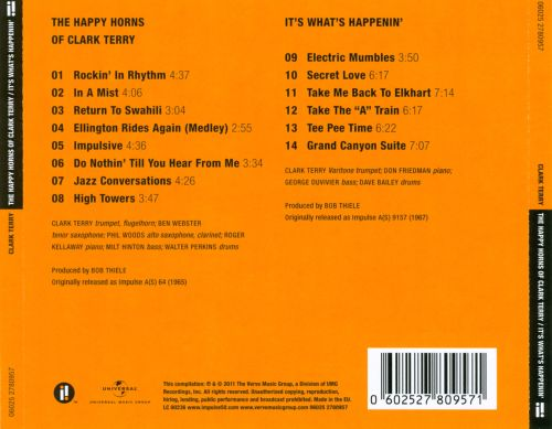 The Happy Horns of Clark Terry/It's What's Happenin'